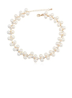 Fashional Pearl/Crystal/Gold Plated Ladies' Bracelets