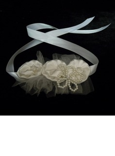 Satin With Imitation Pearl / Flower Women's Headbands (042025262)