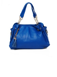 Classical PU With Tassels Shoulder Bags
