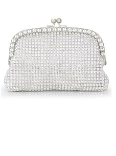 Shining Crystal/ Rhinestone With Metal Clutches/Evening Handbags (012027410)