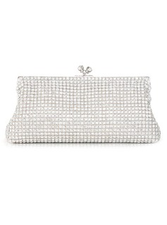 Gorgeous Silk With Rhinestone Clutches (012028150)