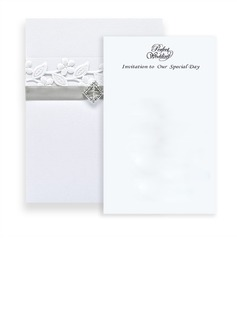 Classic Style Wrap & Pocket Invitation Cards (set of 50) (118040279)