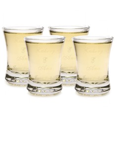 Personalized Simple Design Glass Cup (Set of 12)
