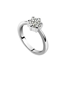 Elegant Platinum Plated Ladies' Rings