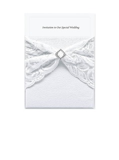 Classic Style Wrap & Pocket Invitation Cards (set of 50) (118040273)