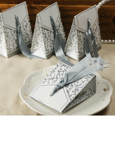 25th Anniversary Favor Boxes With Ribbons (Set of 12)