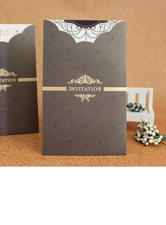 Formal Style Wrap & Pocket Invitation Cards