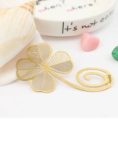 Schöne Clover Shaped Alloy Bookmarks (051016113)