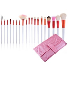 Pink Bag Professional Makeup Brushes (20 Pcs)