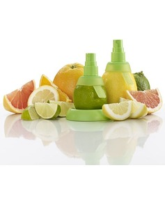 Amazing Platinum Silicone Lemon-squeezer (Set of 3 pieces)