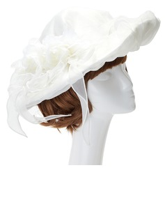 Charming Artificial Silk/Satin/Organza Hats