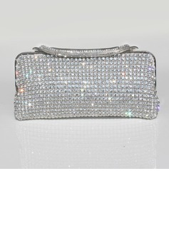 Gorgeous Crystal/ Rhinestone Clutches/Evening Handbags (012028151)