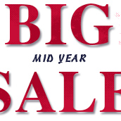 Ends Today! MID YEAR BIG SALE