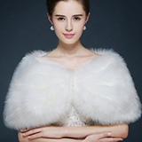 Faux Fur Mode Wrap (013105207)