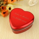 Personalized Heart Shaped Metal Favor Tin (Set of 24) (118031763)