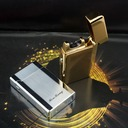 Solid-Color Stainless Steel Electronic Lighter (051059228)