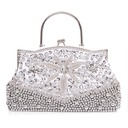 Fashional Silk With Beading/Sequin Clutches/Top Handle Bags
