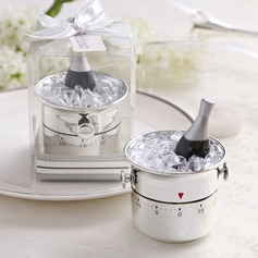 Champagne Bucket Stainless Steel Timer