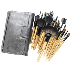 Finding Color-Top Sable Hair Makeup Brush Set (28 Pcs)