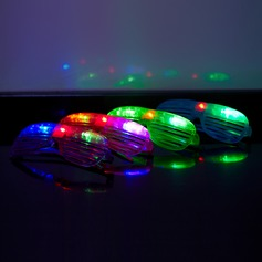 Color changing Glasses Design Plastic LED Lights