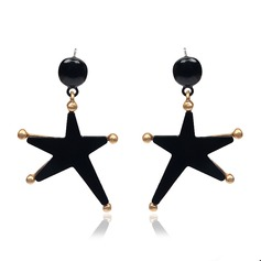 Lovely Alloy Acrylic Ladies' Fashion Earrings