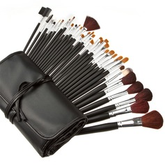 34 Pcs Professional Fashion Makeup Brush Set