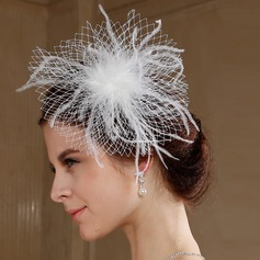 Exquisite Tulle/Flannelette Fascinators/Birdcage Veils