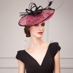 Ladies' Glamourous Cambric With Fascinators