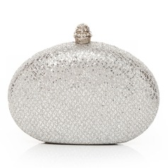 Gorgeous Stainless Steel With Sequin Clutches