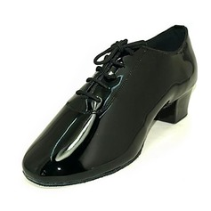 Men's Patent Leather Pumps Latin Ballroom Dance Shoes