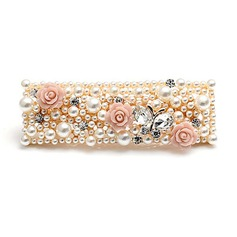 Unique Alloy/Pearl With Rhinestone Ladies' Hair Jewelry
