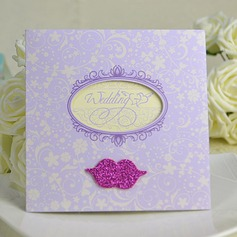 Classic Style Wrap & Pocket Invitation Cards