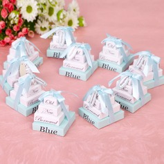 """Something Old New Borrowed And Blue"" High quality paper Note Pad With Ribbons (Set of 10)"