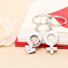 Classic Male And Female Symbol Zinc alloy Keychains