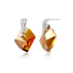 Shining Alloy With Crystal Women's Earrings