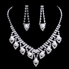Luxurious Alloy/Pearl With Rhinestone Ladies'