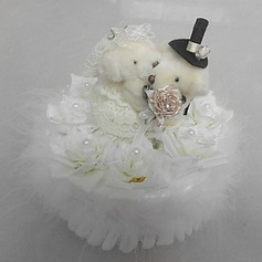 Ring Pillow With Music Box Cute Bear