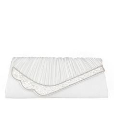 Charming Satin/Rhinestone Clutches/Wristlets