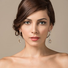 Classic Alloy/Crystal With Rhinestone Ladies' Earrings (011062518)