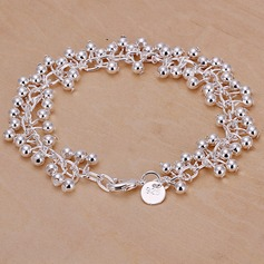 Gorgeous Silver Damer' Mode Armband