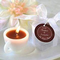 Coffee Cup Designed Candle Favors(set of 4)(096017697)