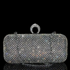 Fashional Crystal/ Rhinestone/Rhinestone Clutches/Fashion Handbags (012103351)