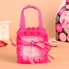 Baby Bear Handbag shaped Favor Bags With Bow (Set of 12)