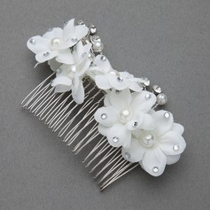 Simple Alloy/Artificial Silk Combs