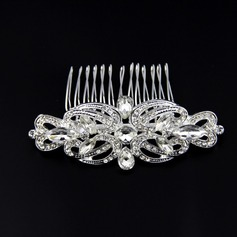 Special Alloy/Austrian Crystal Combs & Barrettes