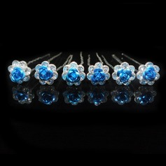 Lovely Alloy Hairpins (Set of 6)