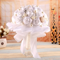 Delicate Round Bridal Bouquets