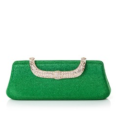 Fashional PU/Rhinestone Clutches