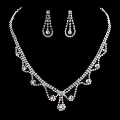 Charming Alloy/Rhinestones Women's/Ladies' Jewelry Sets