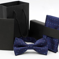 Dot Polyester Bow Tie & Pocket Square